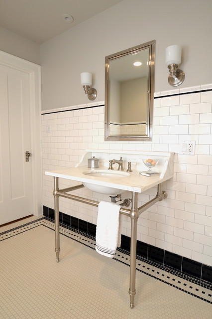 Wilmette Vintage Bath Traditional Bathroom Chicago