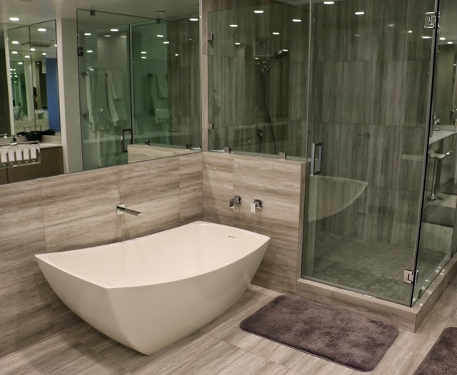 bathroom floor coverings uk wilshire corridor contemporary bathroom los angeles 15867