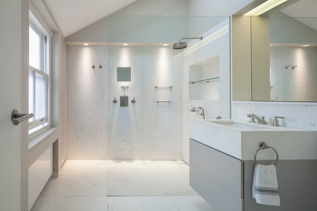 Wilton Terrace Master Ensuite Contemporary Bathroom