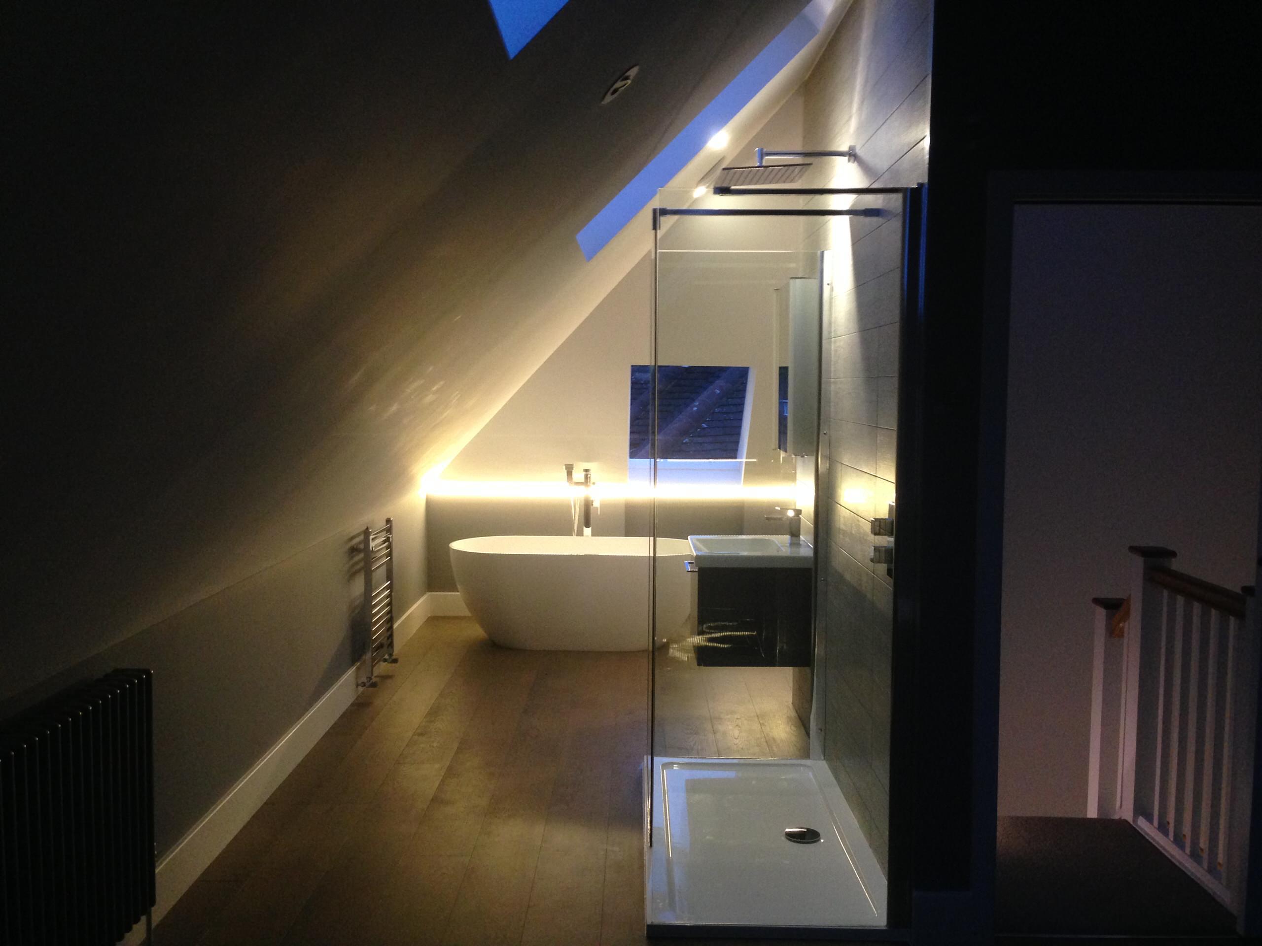 Wimbledon. Extension, loft conversion and refurbishment