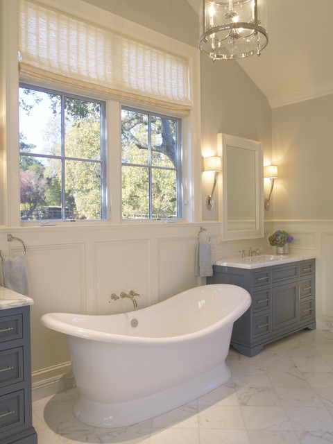 Winding Way Residence traditional bathroom