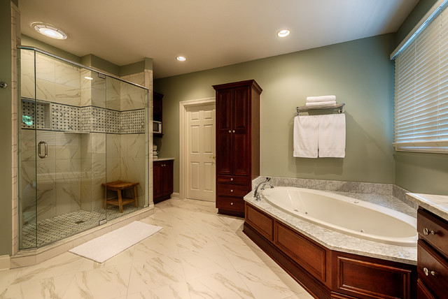 Windpointe Pass Master Bath Remodel traditional-bathroom
