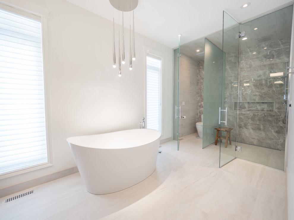 Windsor Park Renovation - Modern - Bathroom - Edmonton ...