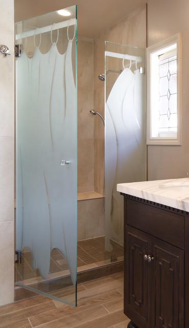 Windsor Terrace: Bathroom Shower by Kimball Starr Interior Design contemporary-bathroom