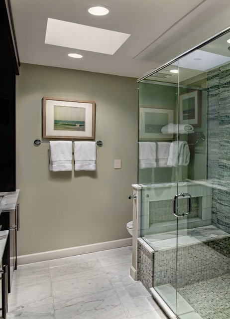 Windy City Retreat Traditional Bathroom Chicago By Marcel Page Photography