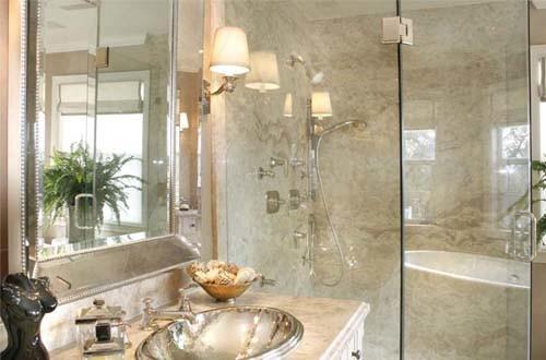 Wine Country Estate contemporary-bathroom