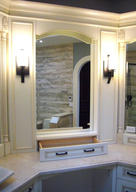 Wine Country Renovation traditional-bathroom