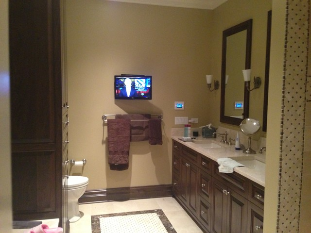 Winnetka 2 traditional bathroom chicago by davis for Home automation shower
