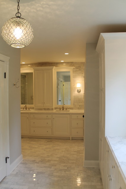 Winnetka master bath traditional bathroom chicago by change design group - Change your old bathroom to traditional bathrooms ...