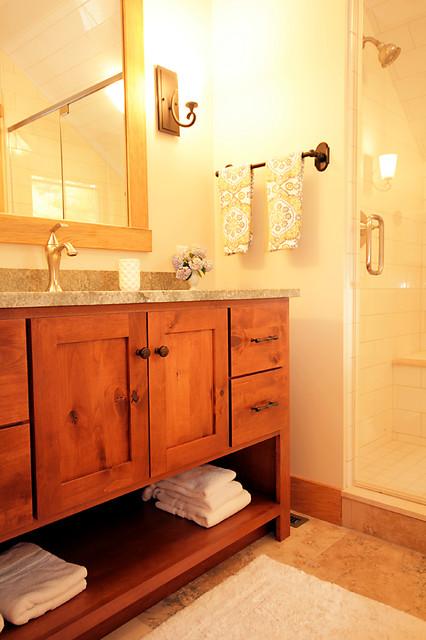 Wintergreen Contemporary Craftsman Craftsman Bathroom Richmond By Smith Robertson Inc