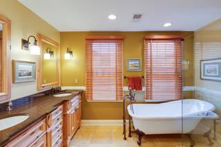 wittenborn master bath - mediterranean - bathroom - dc