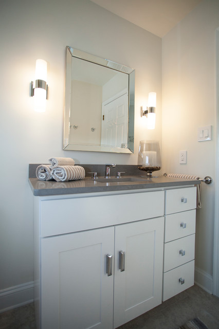 Wolf Vanity transitional bathroom. Wolf Vanity   Transitional   Bathroom   Wilmington   by Cabinet