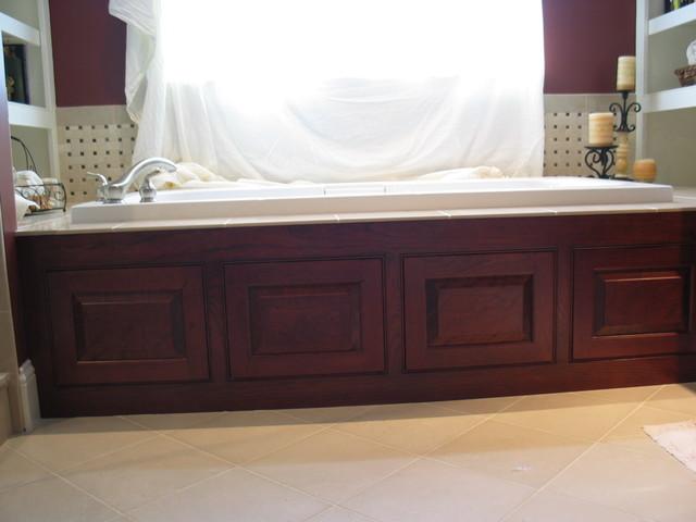 Wood Hot Tub Jacuzzi Panelstraditional Bathroom Boston