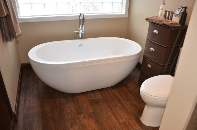 Modern Bathroom Vinyl Flooring Bathrooms Cabinets