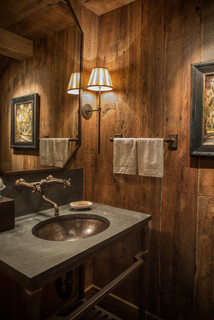 Wood River Valley Chalet - Rustic - Bathroom - Other - by Miller-Roodell Architects Ltd