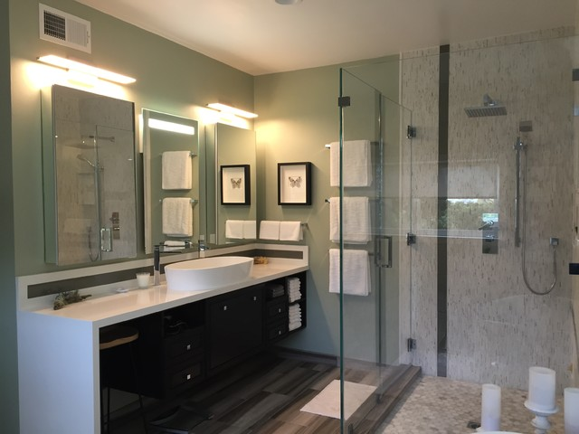 Woodland Hills Master Bathroom Modern Bathroom Los Angeles By Luongo Design Group