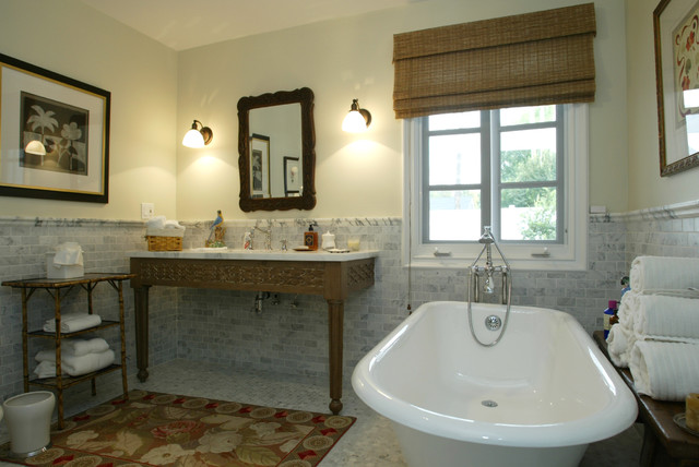 Woodland Hills Master Bathroom Remodel Farmhouse Bathroom Other Metro By Custom Design