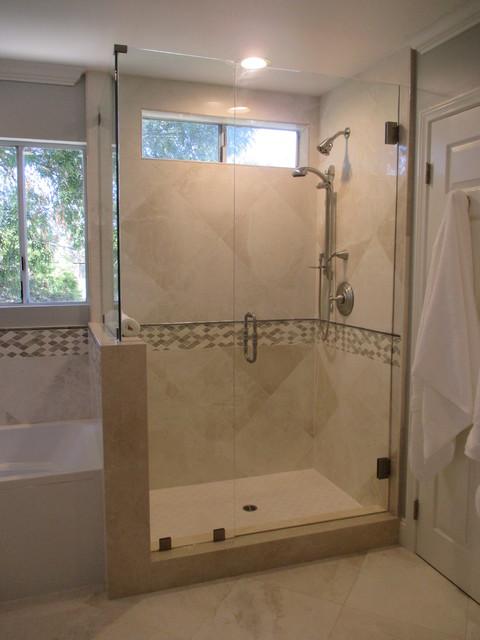 Woodland Hills Transitional Bathroom Los Angeles