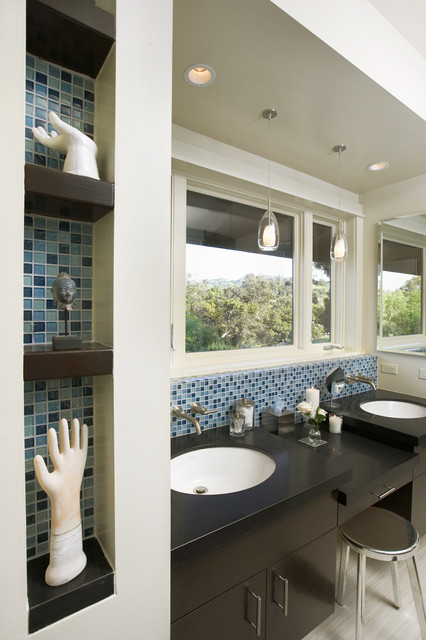 Woodland Hills remodel contemporary-bathroom
