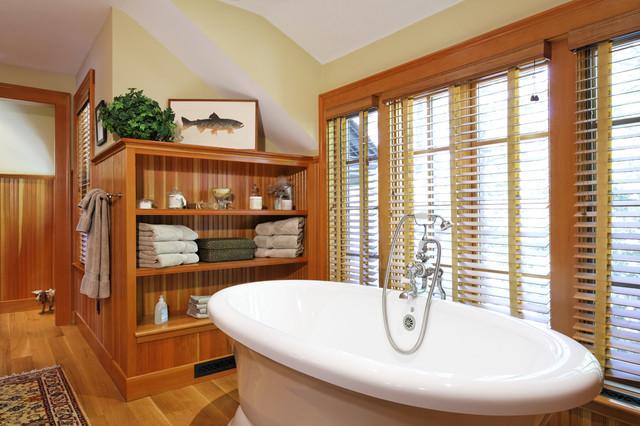 Woodland Point Bath traditional bathroom