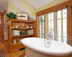Woodland Point Bath rustic bathroom