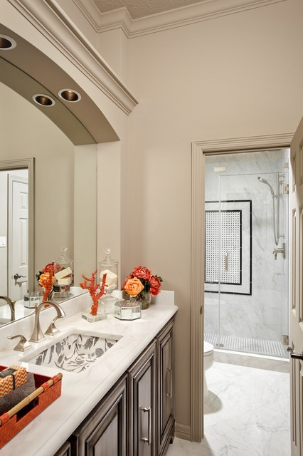 Woodlands whole home remodel traditional bathroom for Whole bathroom remodel