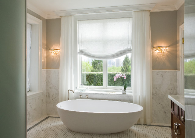 Woodlawn master bedroom ensuite bathroom traditional bathroom toronto by emily griffin Master bedroom with ensuite