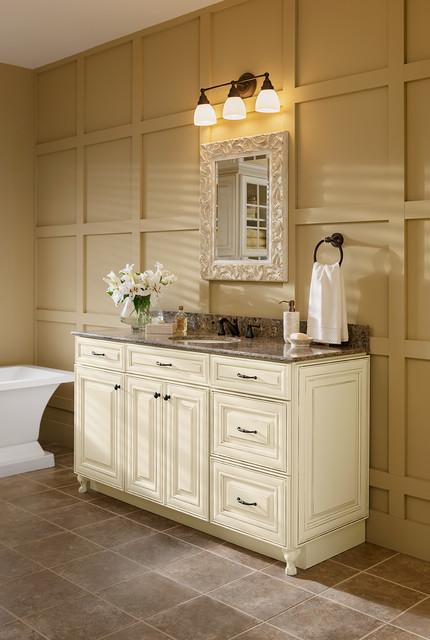 2100 Bathroom Vanity: Woodmark + Silestone Vanity Program