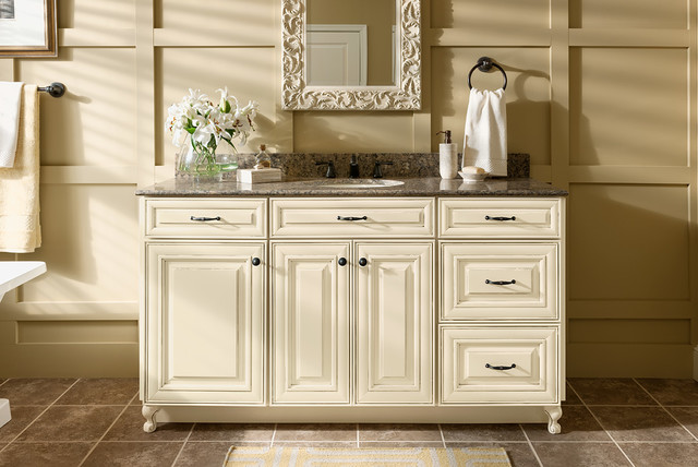 Woodmark silestone vanity program for All american kitchen cabinets
