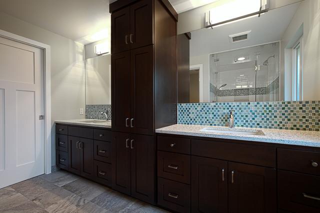 Woodridge whole house remodel traditional bathroom for Whole bathroom remodel