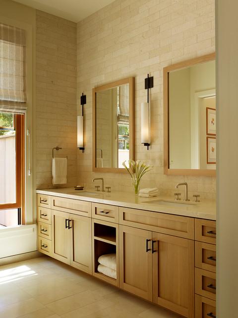 Woodside Residence contemporary-bathroom