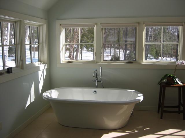 Woodstock Mountain Masterbath Transitional Bathroom New York By Gabrielle Raven Interiors