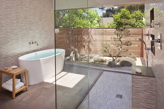 Woodvale Residence contemporary-bathroom