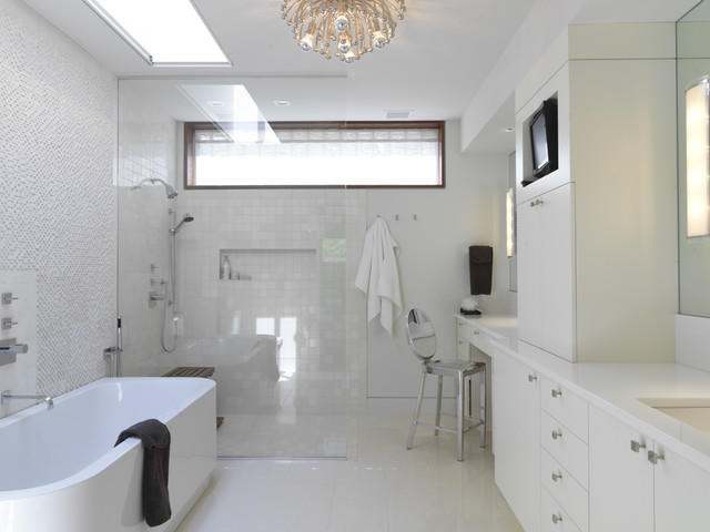 contemporary bathroom by Ziger/Snead Architects