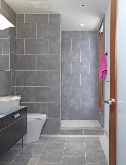Woodvalley House - Bathroom contemporary-bathroom