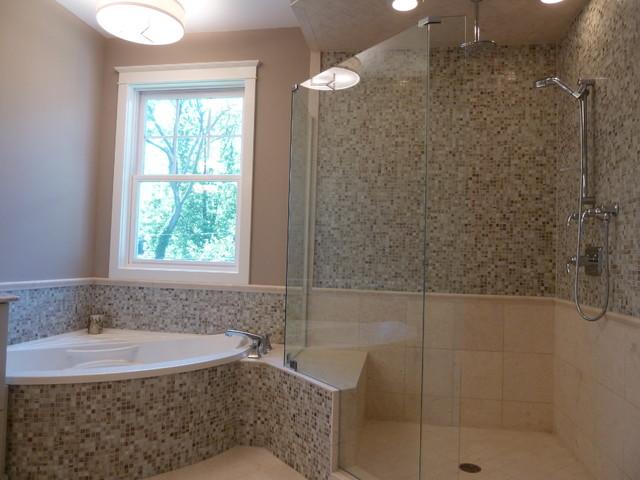 Inspiration for a bathroom remodel in Denver