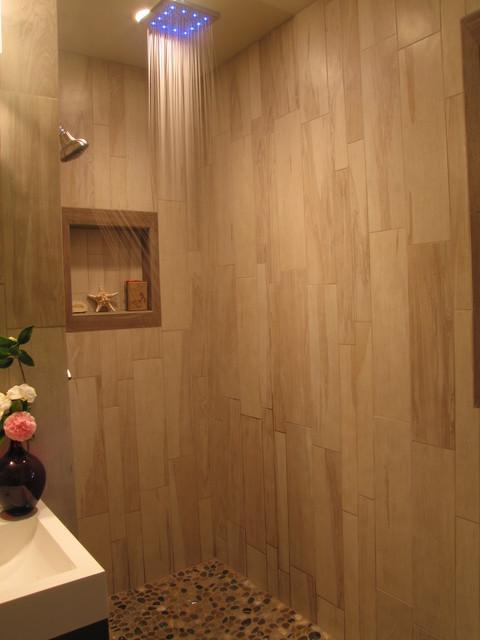 Woody Bathroom Beach Style Bathroom San Diego By Wagner Remodeling