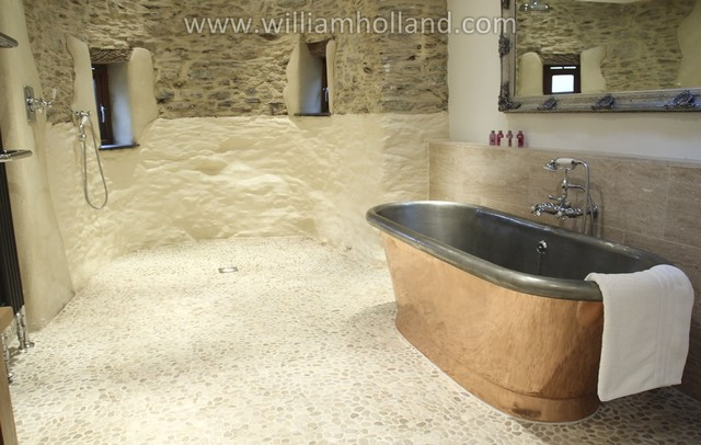 Worden house contemporary bathroom dorset by for Holland kitchen bathroom design ltd