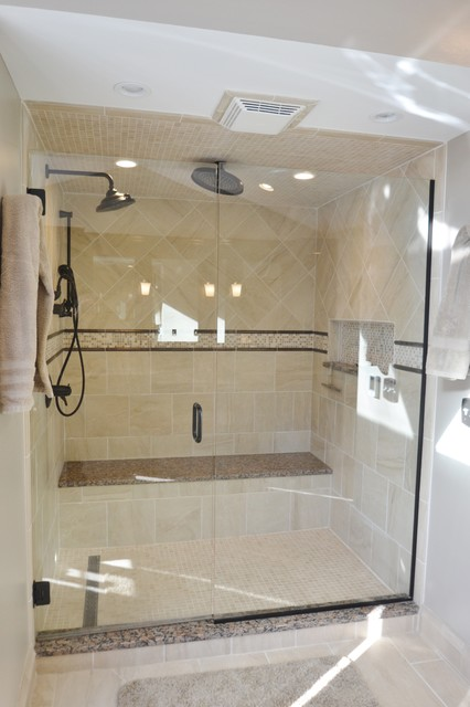 Worthington Master Bath Remodel by Amy - Transitional - Bathroom - columbus - by The Jae Company