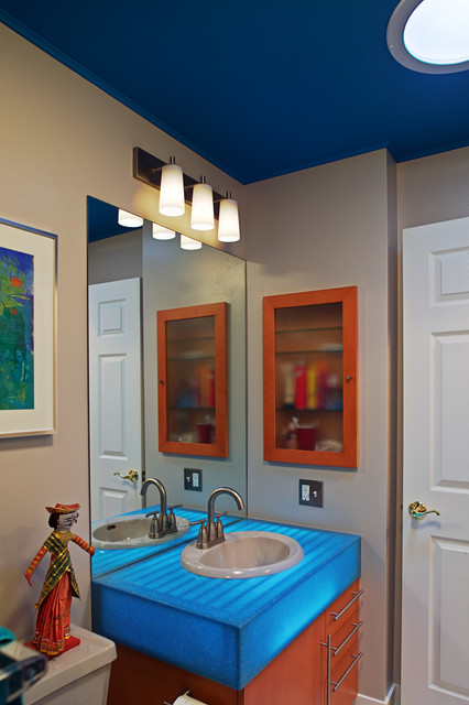Wright Street Design Group Inc. eclectic-bathroom