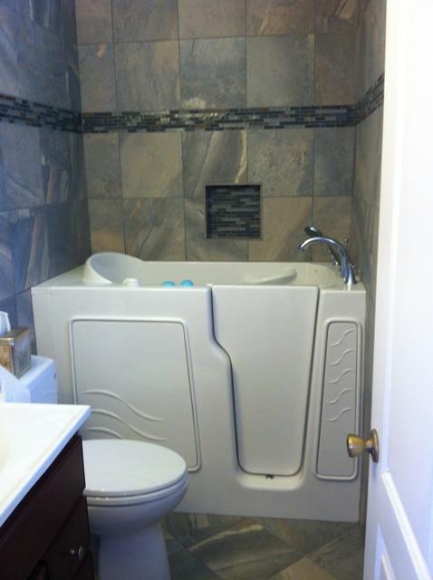 wright walk in tub modern bathroom san diego by
