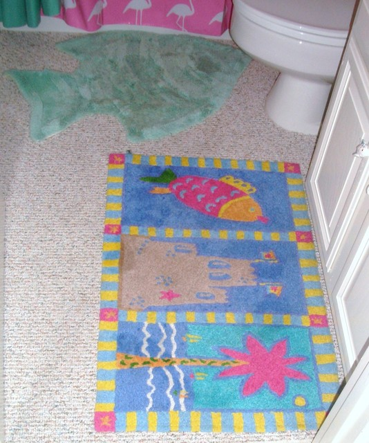 wrightsville rug tropical bathroom other