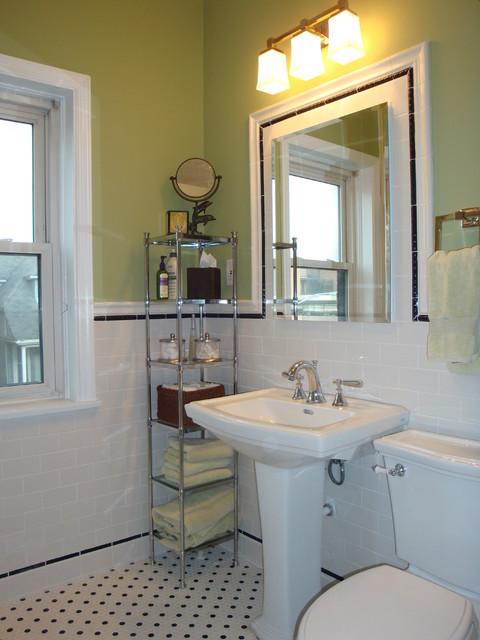 bathroom 3 flat traditional bathroom chicago by design