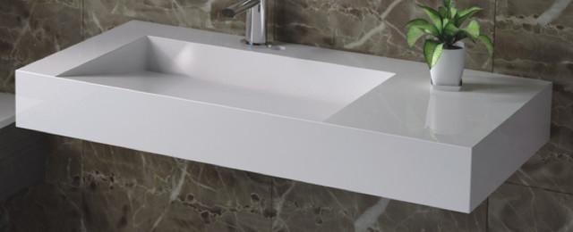 Wt 04 Wall Mounted Sink Matte Or Glossy Finish Modern