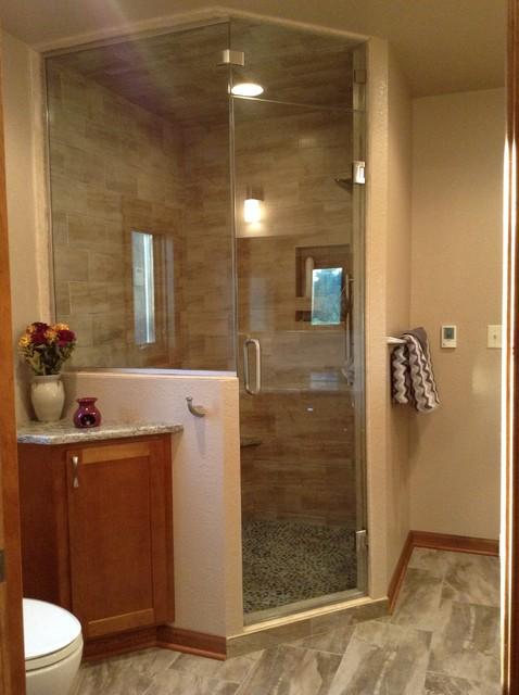 wunder master bath redesign modern bathroom