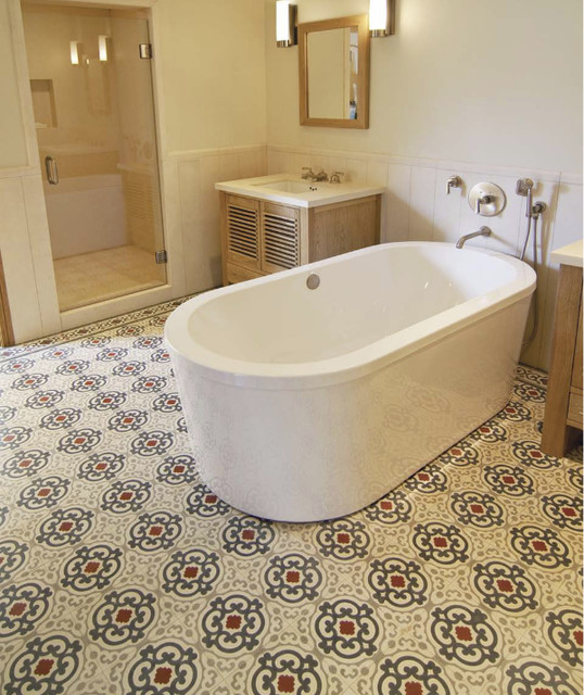 Www luxurystyle es brick terracotta cement concrete old - Spanish floor tile designs ...