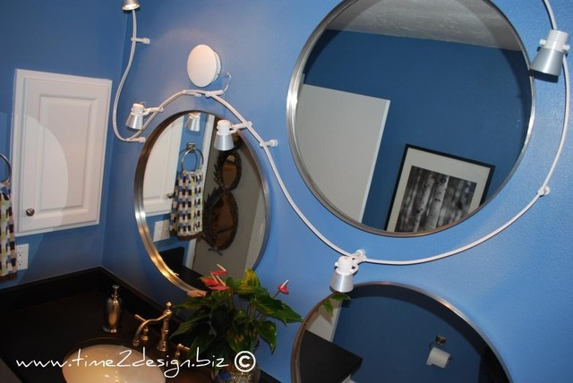 www.time2design.biz eclectic bathroom