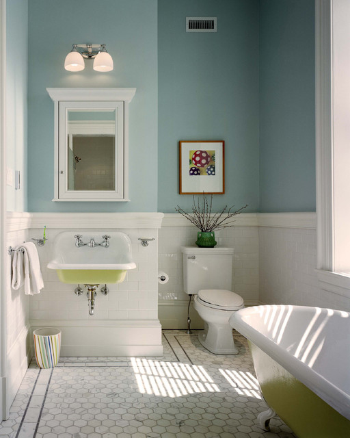 traditional bathroom by Hanson General Contracting, Inc.