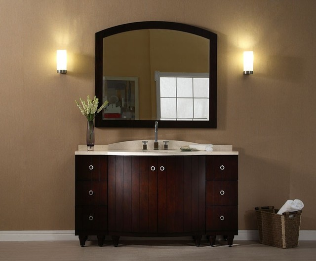 Amazing All Bathroom Vanities Milano Ii Modern Bathroom Vanity Set 59