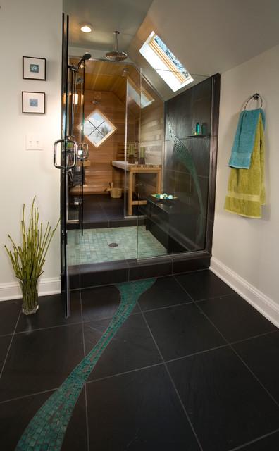 Yamhill House Spa Bath Modern Bathroom Portland By